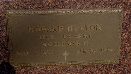 HUTTON, HOWARD - Dubuque County, Iowa | HOWARD HUTTON