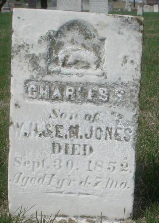 JONES, CHARLES S. - Dubuque County, Iowa | CHARLES S. JONES