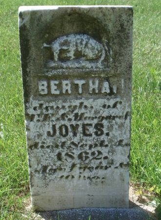 JOYES, BERTHA - Dubuque County, Iowa | BERTHA JOYES