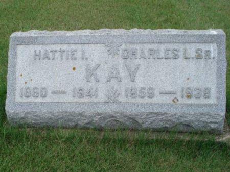 KAY, HATTIE I. - Dubuque County, Iowa | HATTIE I. KAY