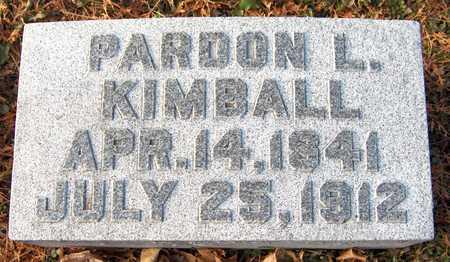 KIMBALL, PARDON L. - Dubuque County, Iowa | PARDON L. KIMBALL