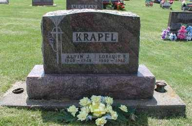 KLOCKER KRAPFL, LORAINE E. - Dubuque County, Iowa | LORAINE E. KLOCKER KRAPFL