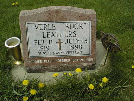 LEATHERS, VERLE - Dubuque County, Iowa | VERLE LEATHERS