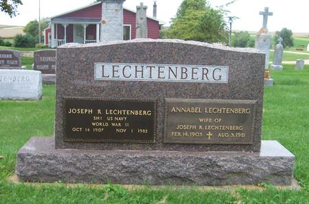 LECHTENBERG, JOSEPH R. - Dubuque County, Iowa | JOSEPH R. LECHTENBERG