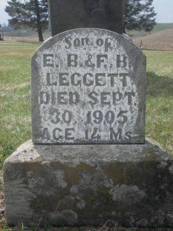 LEGGETT, STANLEY E. - Dubuque County, Iowa   STANLEY E. LEGGETT