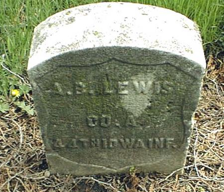 LEWIS, A.B. - Dubuque County, Iowa | A.B. LEWIS