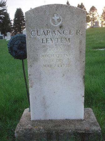 LEYTEM, CLARANCE R. - Dubuque County, Iowa | CLARANCE R. LEYTEM