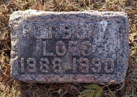 LOES, HERBERT - Dubuque County, Iowa | HERBERT LOES