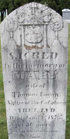 LOGAN, MARY - Dubuque County, Iowa   MARY LOGAN