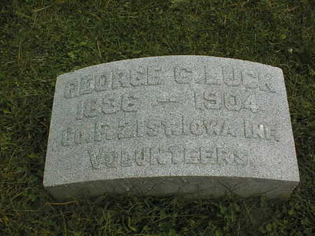 LUCK, GEORGE C. - Dubuque County, Iowa | GEORGE C. LUCK