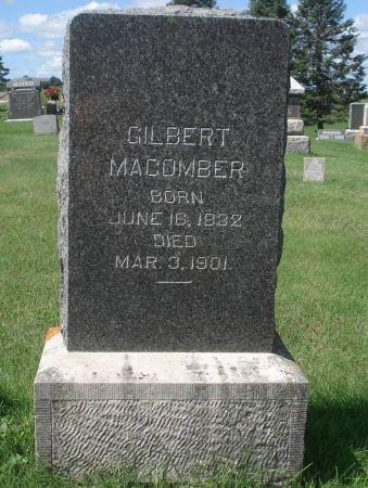 MACOMBER, GILBERT - Dubuque County, Iowa | GILBERT MACOMBER