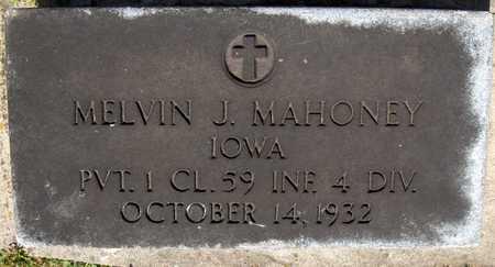 MAHONEY, MELVIN J. - Dubuque County, Iowa | MELVIN J. MAHONEY