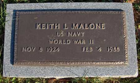 MALONE, KEITH L. - Dubuque County, Iowa | KEITH L. MALONE