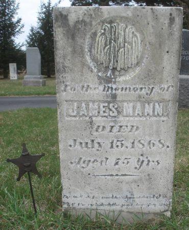 MANN, JAMES - Dubuque County, Iowa | JAMES MANN