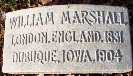 MARSHALL, WILLIAM - Dubuque County, Iowa | WILLIAM MARSHALL