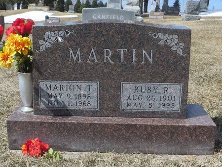 MARTIN, MARION T. - Dubuque County, Iowa | MARION T. MARTIN
