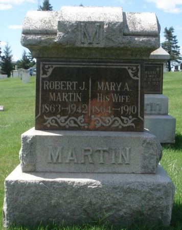 MARTIN, MARY A. - Dubuque County, Iowa | MARY A. MARTIN