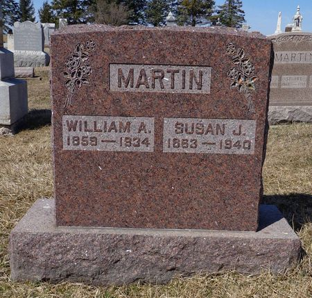 MARTIN, WILLIAM A. - Dubuque County, Iowa   WILLIAM A. MARTIN