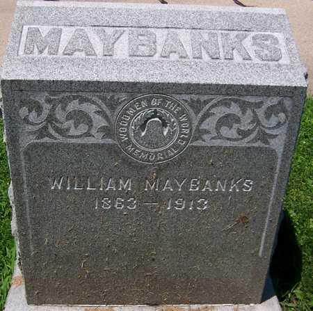 MAYBANKS, WILLIAM - Dubuque County, Iowa | WILLIAM MAYBANKS