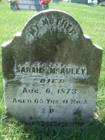 MCAULEY, SARAH - Dubuque County, Iowa | SARAH MCAULEY