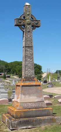 MCCABE, FAMILY MONUMENT - Dubuque County, Iowa   FAMILY MONUMENT MCCABE