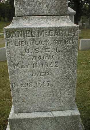 MCCARTHY, DANIEL - Dubuque County, Iowa | DANIEL MCCARTHY