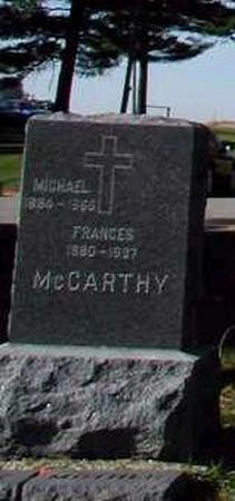MCCARTHY, FRANCES - Dubuque County, Iowa | FRANCES MCCARTHY