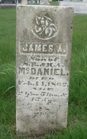 MCDANIEL, JAMES A. - Dubuque County, Iowa | JAMES A. MCDANIEL