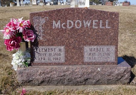 MCDOWELL, CLEMENT M. - Dubuque County, Iowa | CLEMENT M. MCDOWELL