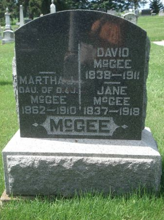 MCGEE, JANE - Dubuque County, Iowa | JANE MCGEE