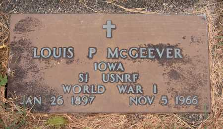 MCGEEVER, LOUIS P. - Dubuque County, Iowa | LOUIS P. MCGEEVER