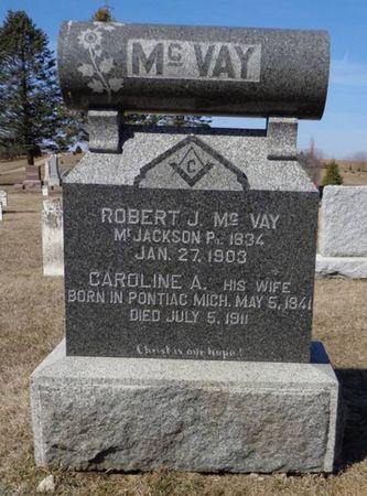 MCVAY, ROBERT J - Dubuque County, Iowa | ROBERT J MCVAY