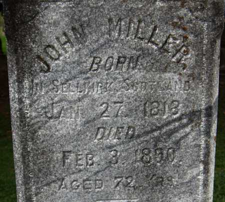 MILLER, JOHN - Dubuque County, Iowa | JOHN MILLER