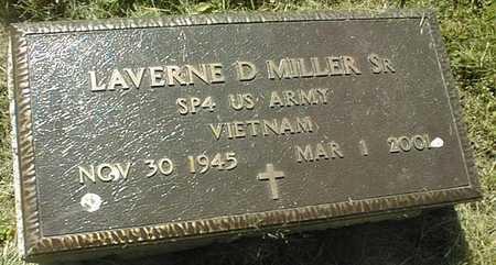 MILLER, LAVERNE D.,SR. - Dubuque County, Iowa | LAVERNE D.,SR. MILLER