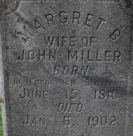 MILLER, MARGRET B. - Dubuque County, Iowa | MARGRET B. MILLER