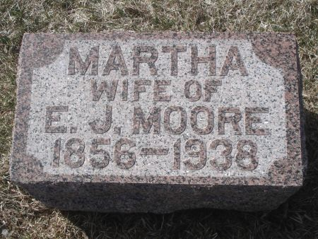 MOORE, MARTHA - Dubuque County, Iowa   MARTHA MOORE