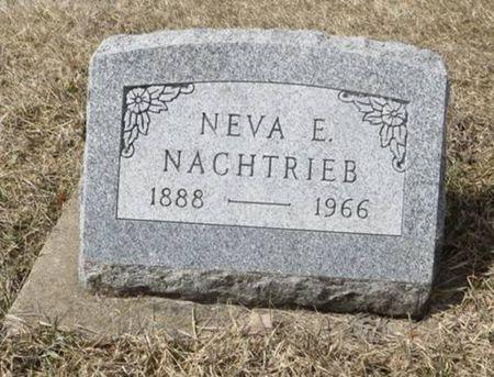 NACHTRIEB, NEVA E. - Dubuque County, Iowa | NEVA E. NACHTRIEB