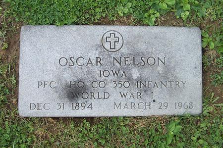 NELSON, OSCAR - Dubuque County, Iowa | OSCAR NELSON
