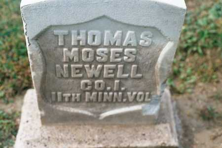 NEWELL, THOMAS MOSES - Dubuque County, Iowa | THOMAS MOSES NEWELL