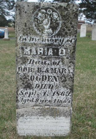OGDEN, MARIA D. - Dubuque County, Iowa | MARIA D. OGDEN