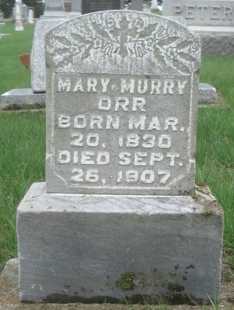 ORR, MARY - Dubuque County, Iowa | MARY ORR
