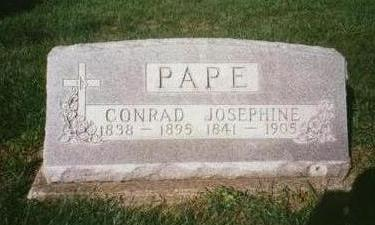 PAPE, CONRAD - Dubuque County, Iowa | CONRAD PAPE