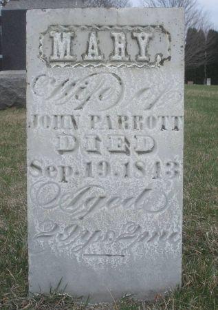 PARROTT, MARY - Dubuque County, Iowa   MARY PARROTT