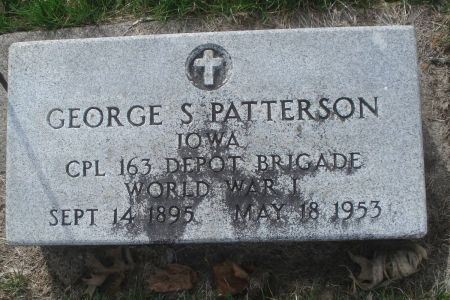 PATTERSON, GEORGE S. - Dubuque County, Iowa   GEORGE S. PATTERSON