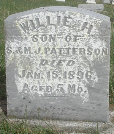 PATTERSON, WILLIE H. - Dubuque County, Iowa   WILLIE H. PATTERSON