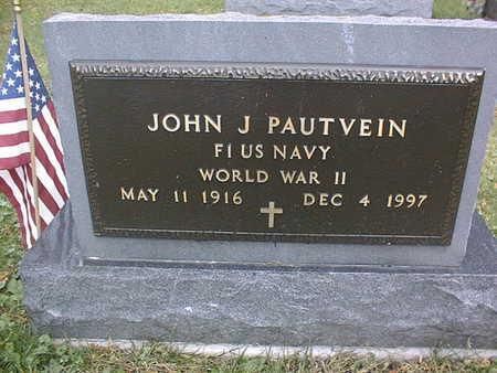 PAUTVEIN, JOHN J. - Dubuque County, Iowa | JOHN J. PAUTVEIN
