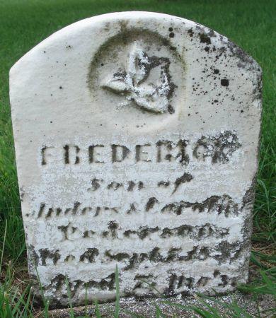 PEDERSON, FREDERICK - Dubuque County, Iowa | FREDERICK PEDERSON