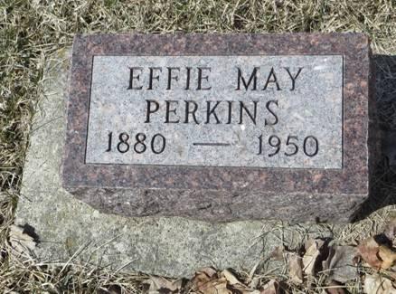 PERKINS, EFFIE MAY - Dubuque County, Iowa | EFFIE MAY PERKINS