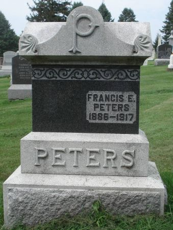 PETERS, FRANCIS E. - Dubuque County, Iowa | FRANCIS E. PETERS