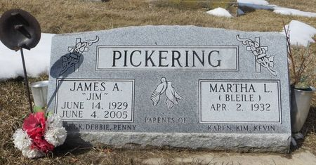 PICKERING, JAMES A. - Dubuque County, Iowa | JAMES A. PICKERING